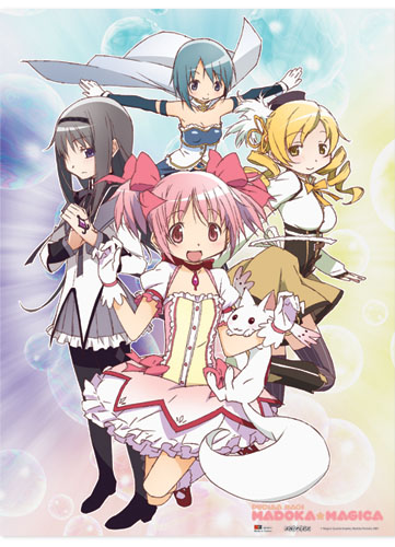 Madoka Magica Group Wallscroll, an officially licensed product in our Madoka Magica Wall Scroll Posters department.