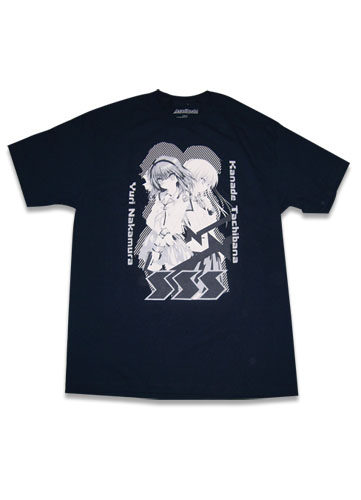 Angel Beats Group T-shirt S, an officially licensed Angel Beats product at B.A. Toys.