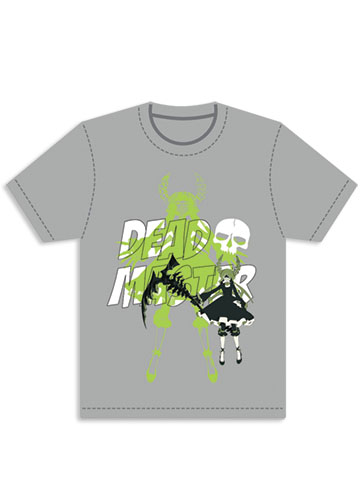 Black Rock Shooter Dead Master T-shirt S, an officially licensed Black Rock Shooter product at B.A. Toys.