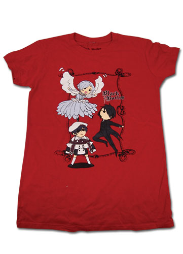 Black Butler Group Flying Jrs T-Shirt L, an officially licensed product in our Black Butler T-Shirts department.