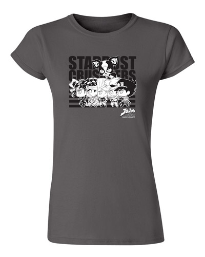 Jojo - Stardust Crusaders Group Jrs. Screen Print T-Shirt L, an officially licensed product in our Jojo'S Bizarre Adventure T-Shirts department.