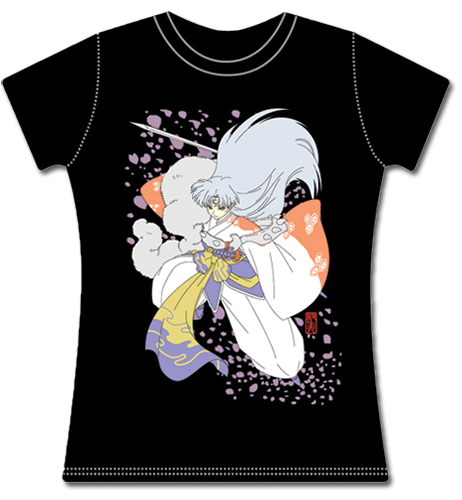 Inuyasha Sesshomaru Jrs T-Shirt L, an officially licensed product in our Inuyahsa T-Shirts department.