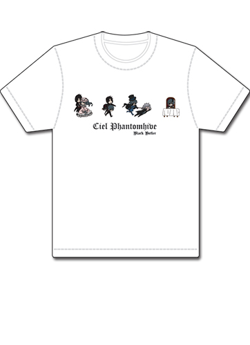 Black Butler Ciel Phantomhive T-Shirt L, an officially licensed Black Butler product at B.A. Toys.