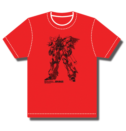 Gundam Uc Sinanju T-Shirt L, an officially licensed product in our Gundam Uc T-Shirts department.