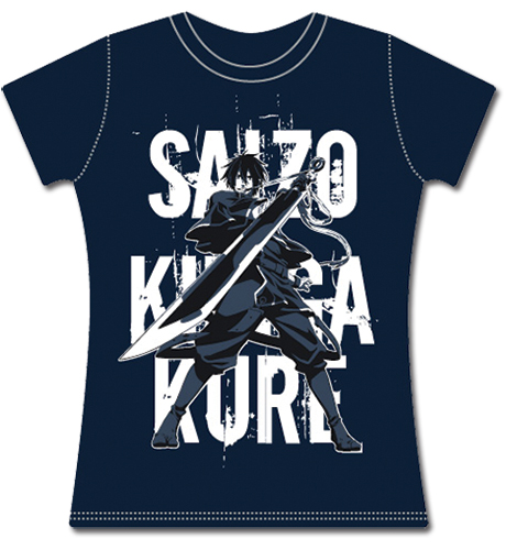 Brave 10 Saizo Jr T-shirt S, an officially licensed Brave Ten product at B.A. Toys.