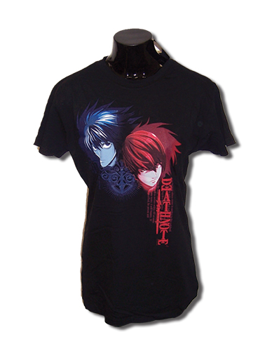 Death Note L & Kira Jrs T-Shirt L, an officially licensed product in our Death Note T-Shirts department.