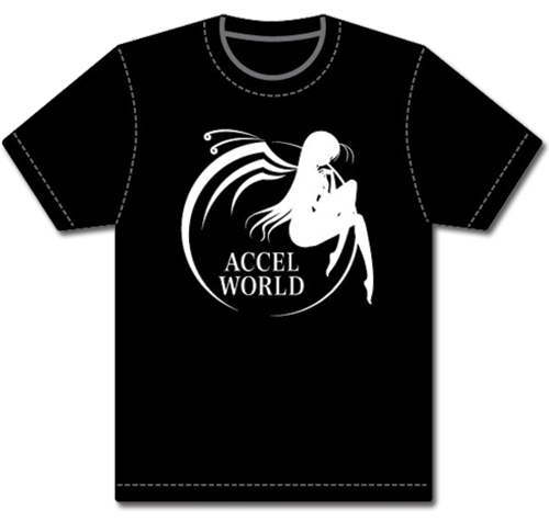 Accel World Butterfly Logo T-shirt Xxl, an officially licensed Accel World product at B.A. Toys.