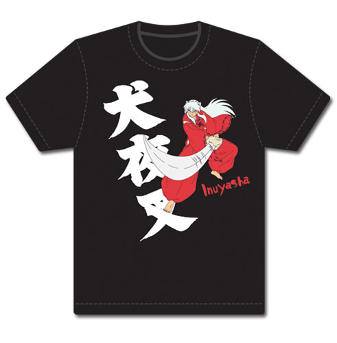 Inuyasha Slashing Inuyasha T-Shirt L, an officially licensed product in our Inuyahsa T-Shirts department.