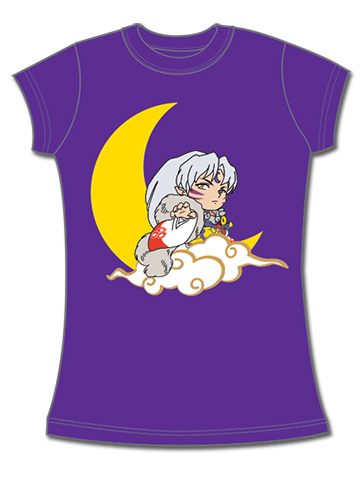 Inuyasha - Sd Sesshomaru Jrs T-Shirt L, an officially licensed product in our Inuyahsa T-Shirts department.