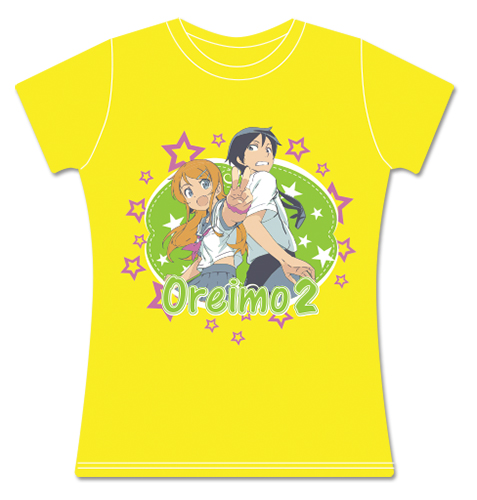 Oreimo 2 - Group Jrs. Screen Print T-Shirt L, an officially licensed product in our Oreimo T-Shirts department.