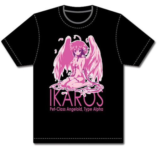 Heavens Lost Property Ikoros T-Shirt L, an officially licensed product in our Heaven'S Lost Property T-Shirts department.