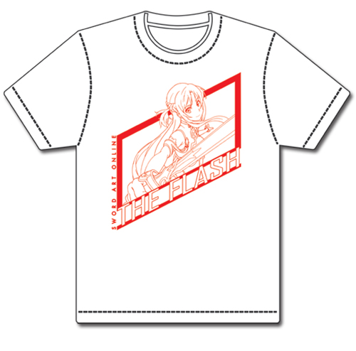 Sword Art Online Asuna The Flash T-Shirt L, an officially licensed product in our Sword Art Online T-Shirts department.