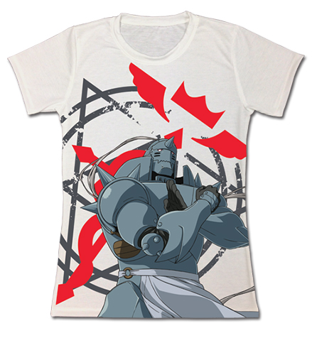 Fullmetal Alchemist Brotherhood - Alphonse Jrs. T-Shirt M officially licensed Fullmetal Alchemist T-Shirts product at B.A. Toys.