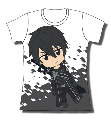 Sword Art Online Kirito Jrs T-Shirt L, an officially licensed product in our Sword Art Online T-Shirts department.