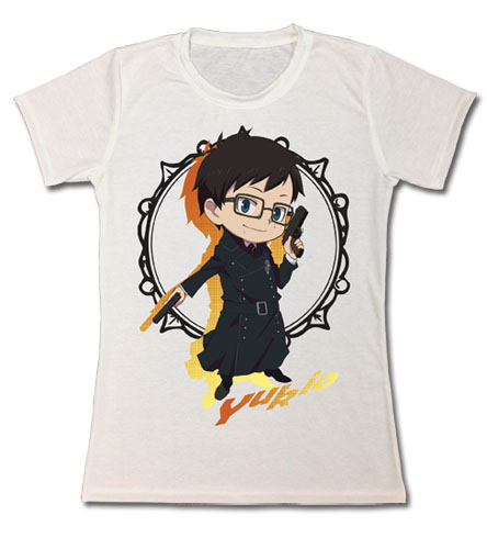 Blue Exorcist - Sd Yukio Jrs T-Shirt S officially licensed Blue Exorcist T-Shirts product at B.A. Toys.