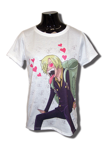 One Piece - New World Sanji Jrs T-Shirt L, an officially licensed product in our One Piece T-Shirts department.