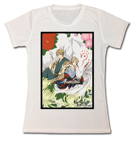 Natsume's Book Of Friends - Takashi, Natori & Mandara Jrs. T-Shirt L, an officially licensed product in our Natsume'S Book Of Friends T-Shirts department.