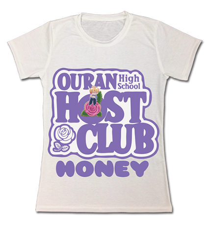Ouran High School Host Club - Honey Dye Sublimation Jrs. T-Shirt L, an officially licensed product in our Ouran High School Host Club T-Shirts department.