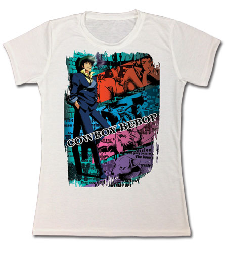 Cowboy Bebop - Spike Jrs. Sublimation T--Shirt XL, an officially licensed Cowboy Bebop product at B.A. Toys.