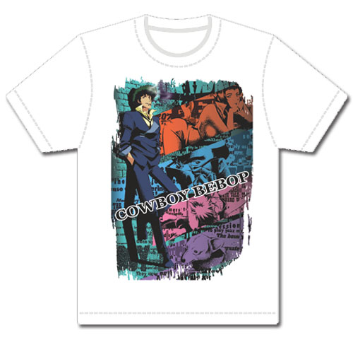 Cowboy Bebop Spike Sublimation Men's T-shirt L, an officially licensed Cowboy Bebop product at B.A. Toys.