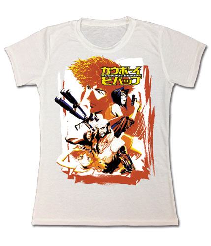 Cowboy Bebop - Spike & Crew Jrs. Sublimation T-Shirt M