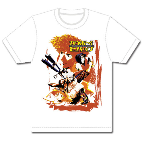 Cowboy Bebop Spike & Crew Mens Sublimation T-Shirts Xl