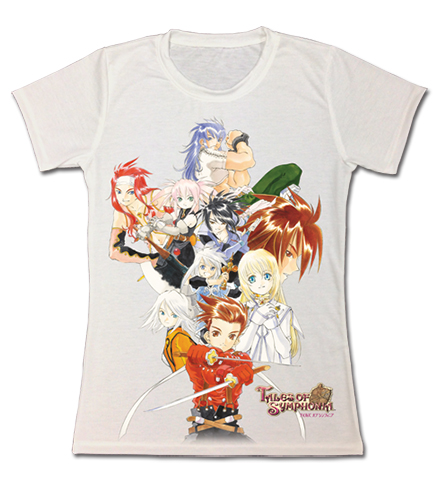 Tales Of Symphonia Ps2 Keyart 1 Jrs Sublimation T-Shirt S, an officially licensed product in our Tales Of Symphonia T-Shirts department.