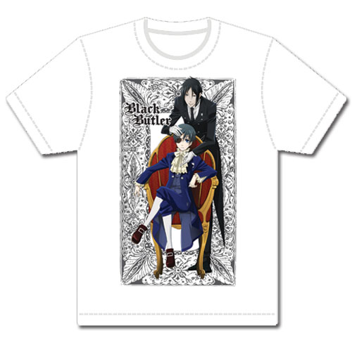 Black Butler - Black Butler Men Dye Sublimation T-Shirt L, an officially licensed Black Butler product at B.A. Toys.