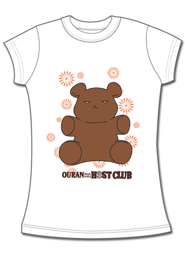 Ouran H.S Host Club - Ouran Bear Jrs. T-Shirt L, an officially licensed product in our Ouran High School Host Club T-Shirts department.