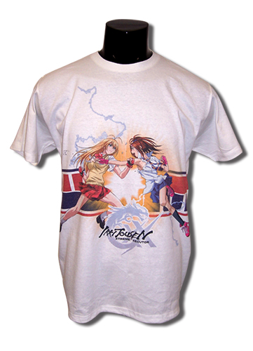 Ikki Tousen Xx - Sonsaku And Bachou Men's Sub T-Shirt L, an officially licensed product in our Ikki Tousen Xx T-Shirts department.