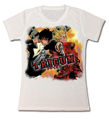 Trigun - Vash & Wolfwood Jrs. T-Shirt XXL, an officially licensed product in our Trigun T-Shirts department.