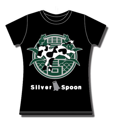 Silver Spoon - School Badge Jrs. T-Shirt L, an officially licensed product in our Silver Spoon T-Shirts department.