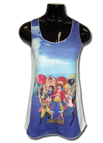 One Piece Group Womens Tank Top XXL, an officially licensed product in our One Piece T-Shirts department.