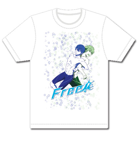 Free! - Haruka And Makoto Men's T-Shirt L, an officially licensed product in our Free! T-Shirts department.