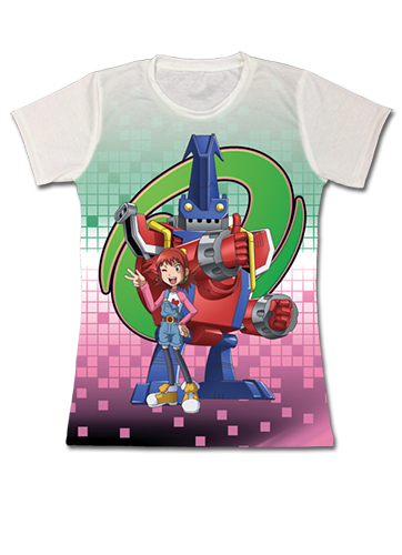 Digimon - Angie & Balistamon Sublimation Jrs. T-Shirt S officially licensed Digimon T-Shirts product at B.A. Toys.