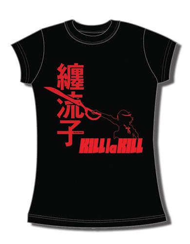 Kill La Kill - Ryuko Matoi Jrs T-Shirt L, an officially licensed product in our Kill La Kill T-Shirts department.