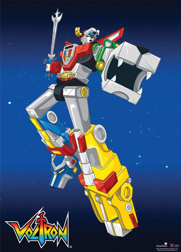Voltron Voltron Battle Pose Wallscroll, an officially licensed product in our Voltron Wall Scroll Posters department.