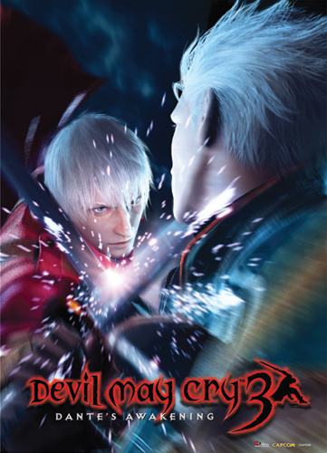 Devil May Cry Dante Vs Vergil Wallscroll, an officially licensed Devil May Cry Wall Scroll