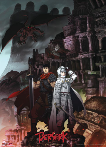 Berserk Band Of The Hawk Wallscroll, an officially licensed Berserk Wall Scroll
