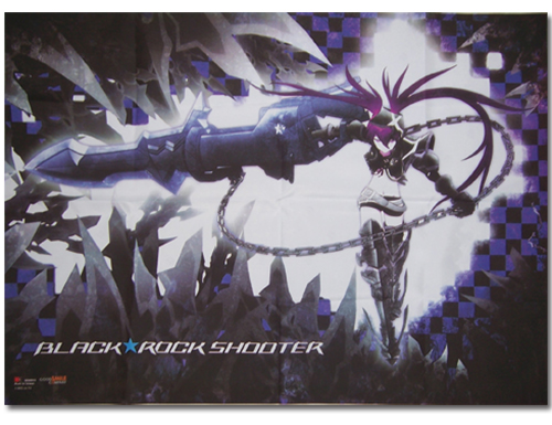 Black Rock Shooter Insane Black Rock Shooter Wallscroll, an officially licensed Black Rock Shooter Wall Scroll