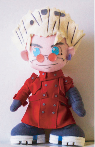 Trigun Vash Plush, an officially licensed product in our Trigun Plush department.