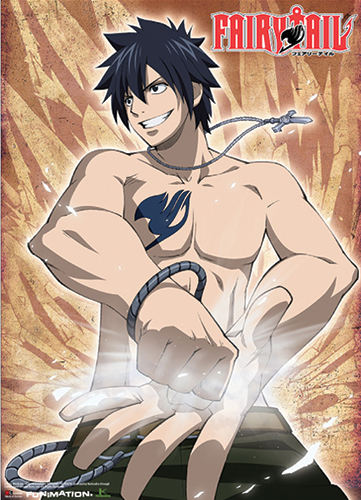 Fairy Tail Rope On Wrist Gray Wallscroll, an officially licensed product in our Fairy Tail Wall Scroll Posters department.
