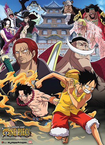 One Piece One Piece Wallscroll officially licensed product at B.A. Toys.