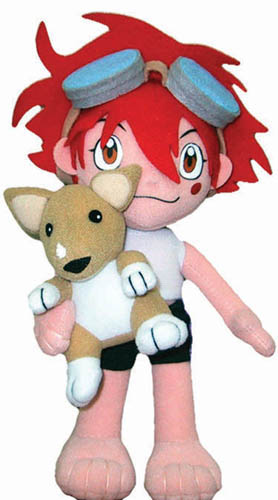 Cowboy Bebop Edward & Ein Plush, an officially licensed product in our Cowboy Bebop Plush department.