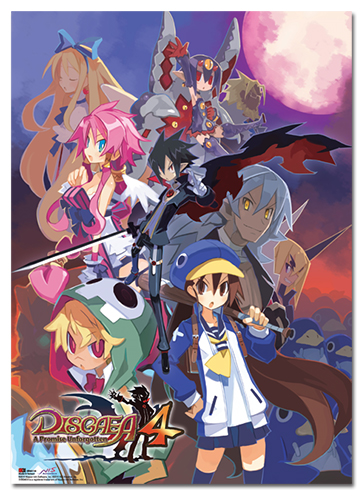 Disgaea 4 Cover Art Wallscroll, an officially licensed product in our Disgaea Wall Scroll Posters department.