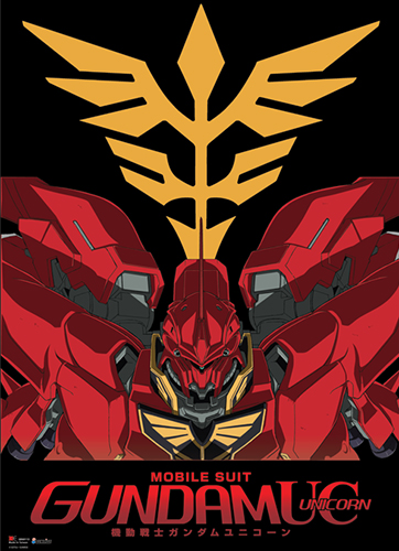 Gundam Uc Msn- 065 Sinanju Wallscroll, an officially licensed product in our Gundam Uc Wall Scroll Posters department.