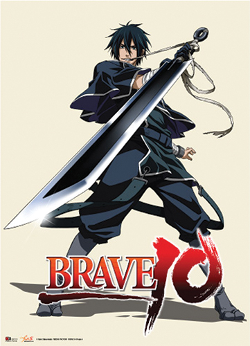 Brave 10 Saizo Wallscroll officially licensed product at B.A. Toys.