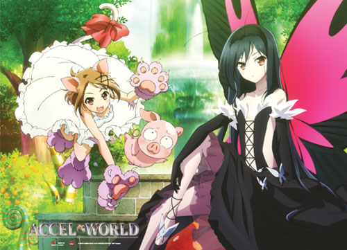 Accel World - Group Wallscroll, an officially licensed product in our Accel World Wall Scroll Posters department.