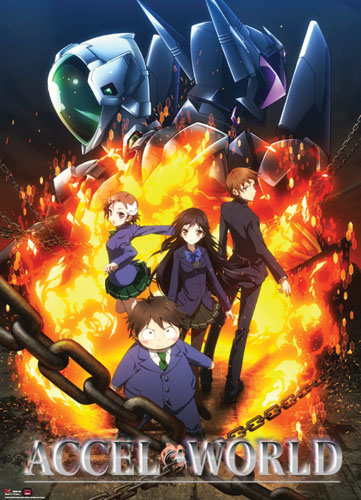 Accel World - Keyart Wallscroll, an officially licensed Accel World product at B.A. Toys.