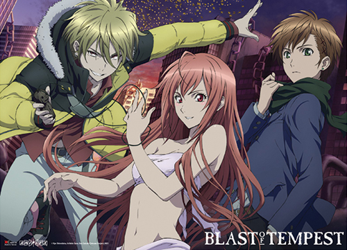 Blast Of Tempest - Group Wallscroll officially licensed Blast Of Tempest Wall Scroll Posters product at B.A. Toys.